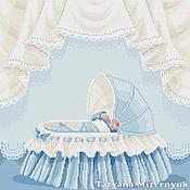 """Материалы для творчества ручной работы. Ярмарка Мастеров - ручная работа Схема  вышивки крестом """"Малыш"""". Handmade."""