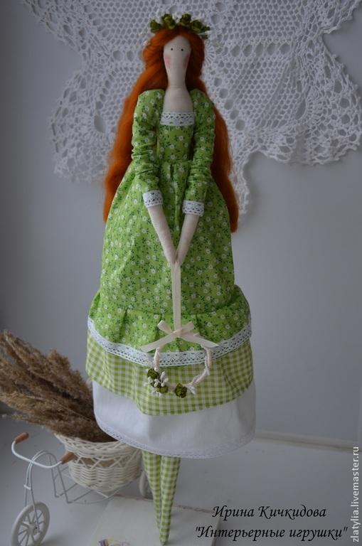Мелиса.Текстильная интерьерная кукла Тильда ангел, Куклы Тильды, Пенза, Фото №1