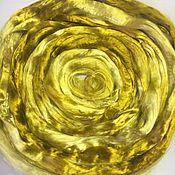 Материалы для творчества handmade. Livemaster - original item Viscose felting Mustard 10 gr. Troitsk. Handmade.