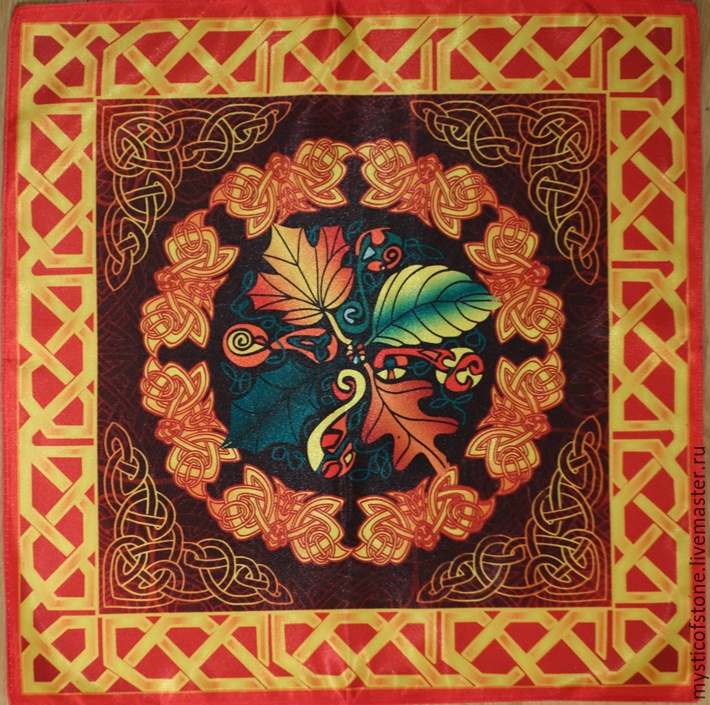 Esoteric Accessories Handmade. Livemaster   Handmade. Buy Series Tablecloths  Ancient Celts Seasons. Autumn Esoteric Accessories Handmade.