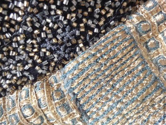 Сумки и аксессуары ручной работы. Ярмарка Мастеров - ручная работа. Купить Синяя сумочка с индийской вышивкой. Handmade. Тёмно-синий