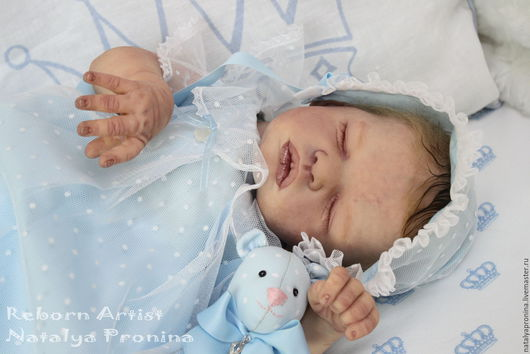Куклы-младенцы и reborn ручной работы. Ярмарка Мастеров - ручная работа. Купить Кукла реборн Анастасия. Handmade. Комбинированный, винил