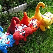 Куклы и игрушки ручной работы. Ярмарка Мастеров - ручная работа Игрушечный котенок. Handmade.