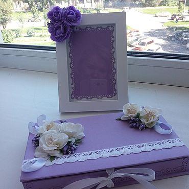 Свадебный салон ручной работы. Ярмарка Мастеров - ручная работа Подарки: коробочка для денежного подарка. Handmade.