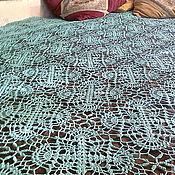 Для дома и интерьера ручной работы. Ярмарка Мастеров - ручная работа ажурное покрывало. Handmade.