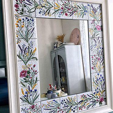 Для дома и интерьера ручной работы. Ярмарка Мастеров - ручная работа Зеркало в стиле прованс. Handmade.