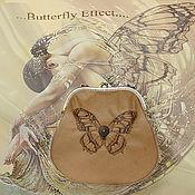 """Сумки и аксессуары ручной работы. Ярмарка Мастеров - ручная работа Сумочка """"Butterfly Effect"""". Handmade."""