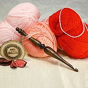 Материалы для творчества handmade. Livemaster - original item Crochet hook 6#101. Handmade.
