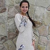 """Одежда ручной работы. Ярмарка Мастеров - ручная работа Платье из льна """" Виола"""". Handmade."""