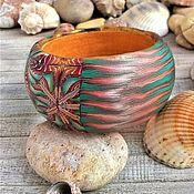 Украшения handmade. Livemaster - original item Handmade bracelet. BOHO CHIC SUMMER made of polymer clay. Handmade.