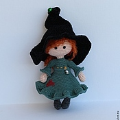 Куклы и игрушки ручной работы. Ярмарка Мастеров - ручная работа Маленькая колдунья. Handmade.