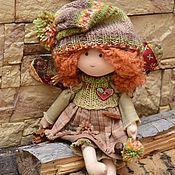 Куклы и игрушки ручной работы. Ярмарка Мастеров - ручная работа Праздник медового цвета. Handmade.