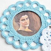 Материалы для творчества handmade. Livemaster - original item Knitted frame. Handmade.