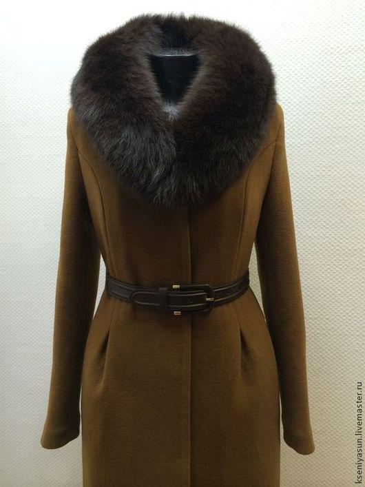 Верхняя одежда ручной работы. Ярмарка Мастеров - ручная работа. Купить Пальто зимнее Snow Qween 2. Handmade. Коричневый