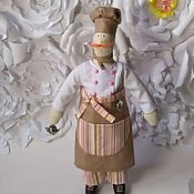 Куклы и игрушки ручной работы. Ярмарка Мастеров - ручная работа Повар Тильды. Handmade.