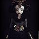 Коллекционные куклы ручной работы. Дэниела Gothic Steampunk шарнирная кукла. Инна Павлова. Интернет-магазин Ярмарка Мастеров. Стимпанк