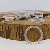 Украшения handmade. Livemaster - original item Thin ring chalcedony 17 p.. Handmade.