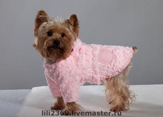 """Одежда для собак, ручной работы. Ярмарка Мастеров - ручная работа. Купить Меховая курточка """"Нежность"""". Handmade. Йоркширский терьер"""