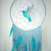 Ловец снов ручной работы. Ярмарка Мастеров - ручная работа Ловец снов: Колибри. Handmade.