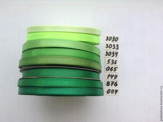 Аппликации, вставки, отделка ручной работы. Ярмарка Мастеров - ручная работа. Купить Атласные ленты 6 мм ( 32,9 м). Handmade.