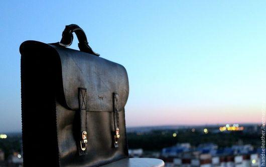 Портфель/ кожа быка/ исключительная ручная работа/ от 8990 рублей/  Приглашаем Вас в гости http://vk.com/myhandsel