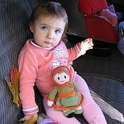 Куклы и игрушки ручной работы. Ярмарка Мастеров - ручная работа Кукла. Вязаная кукла из шерсти  Осенняя. Handmade.