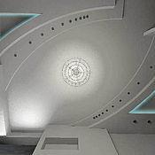 Дизайн и реклама ручной работы. Ярмарка Мастеров - ручная работа интересные решения подвесных потолков. Handmade.