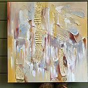 Картины и панно handmade. Livemaster - original item Silver dunes - interior painting on canvas. Handmade.