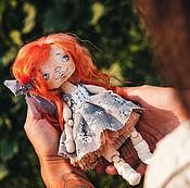 Куклы и игрушки ручной работы. Ярмарка Мастеров - ручная работа Текстильная малышка. Handmade.