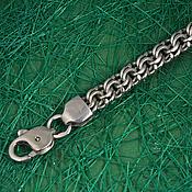 """Украшения ручной работы. Ярмарка Мастеров - ручная работа Цепь """"Бисмарк"""" из серебра 925 пробы. Handmade."""