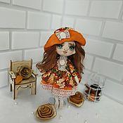 Куклы и пупсы ручной работы. Ярмарка Мастеров - ручная работа Кукла интерьерная текстильная игровая. Handmade.