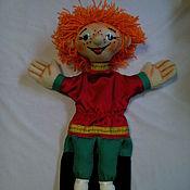 Куклы и игрушки ручной работы. Ярмарка Мастеров - ручная работа Рыжий МАЛЬЧИШКА. Перчаточная кукла.. Handmade.