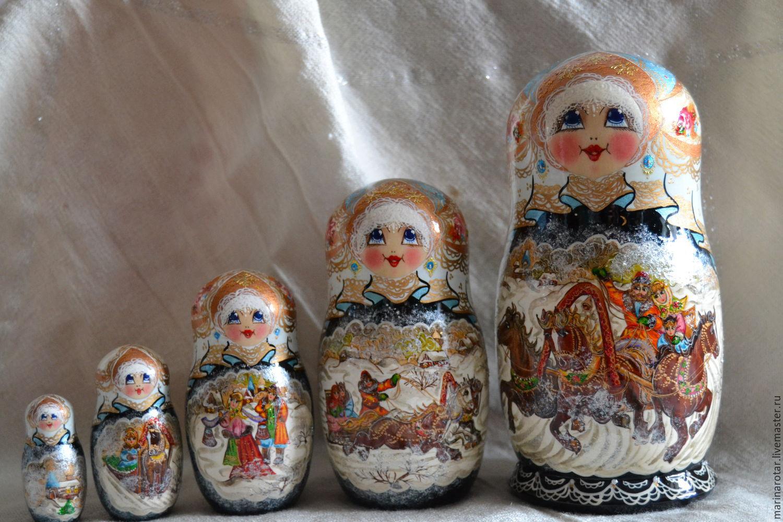 Russian winter%#%5mest, Dolls1, Sergiev Posad,  Фото №1