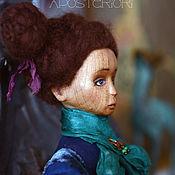 Куклы и игрушки ручной работы. Ярмарка Мастеров - ручная работа Кукла из дерева Джини. Handmade.