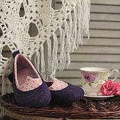 """Обувь ручной работы. Ярмарка Мастеров - ручная работа """"СлИвовый десерт"""". Handmade."""