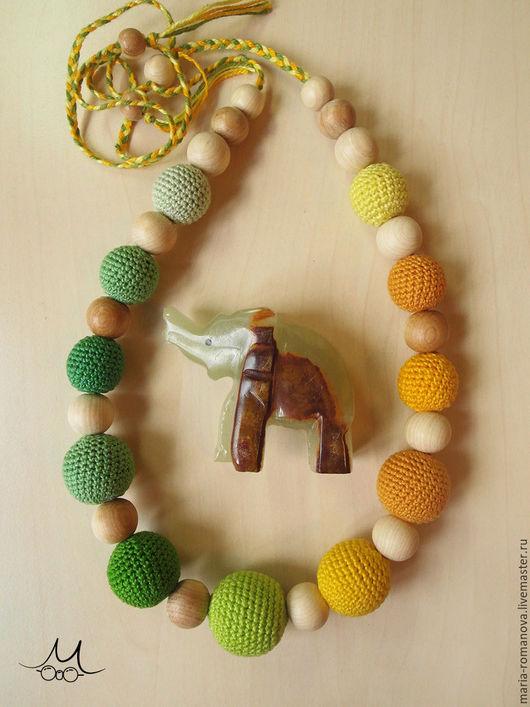 Слингобусы ручной работы. Ярмарка Мастеров - ручная работа. Купить Слингобусы можжевеловые. Handmade. Зеленый, зелень, утро, охра