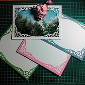 Материалы для творчества handmade. Livemaster - original item Cutting for scrapbooking -Frame for the photo. Handmade.
