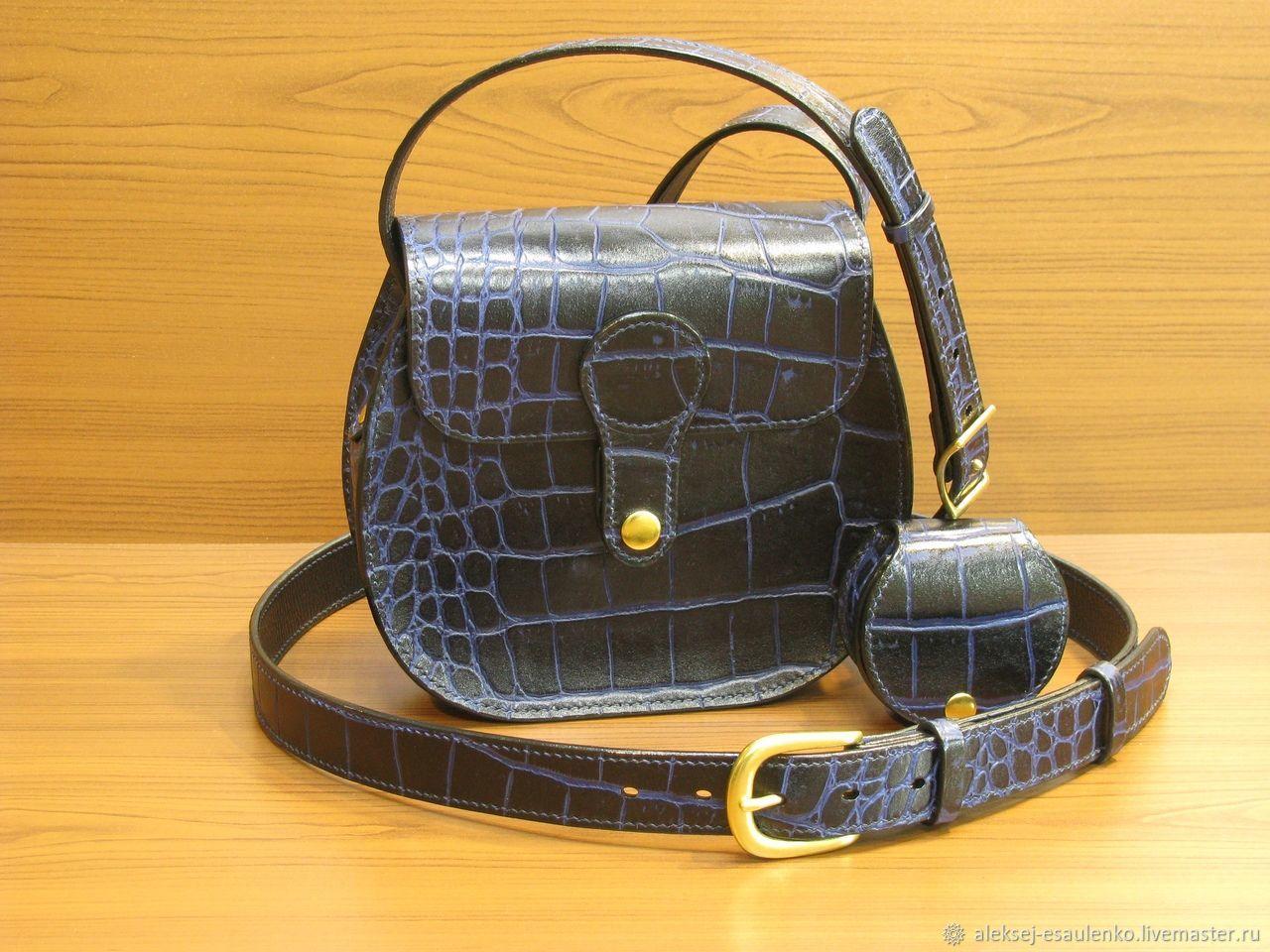 6e9f1daf6887 Женские сумки ручной работы. Ярмарка Мастеров - ручная работа. Купить  Комплект 'Полярный Крокодил ...