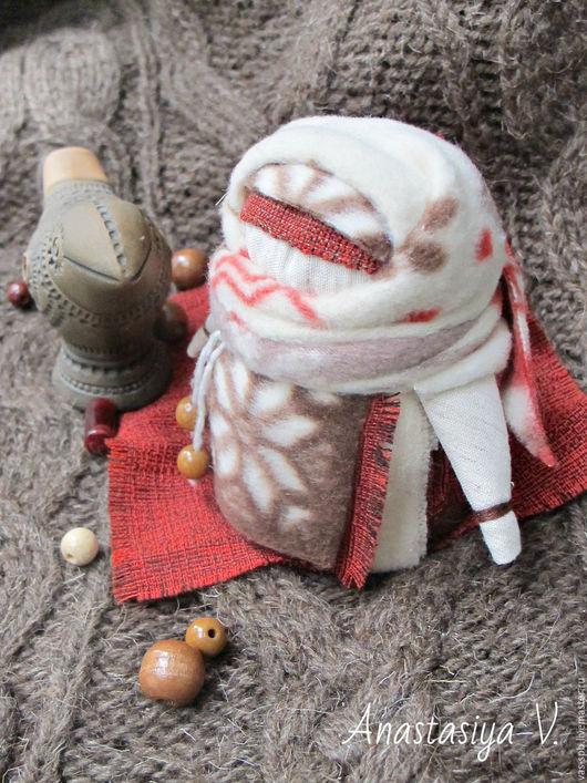 Народные куклы ручной работы. Ярмарка Мастеров - ручная работа. Купить Тряпичная кукла Крупеничка -  Акулина. Handmade. Зимний
