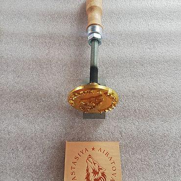 Дизайн и реклама ручной работы. Ярмарка Мастеров - ручная работа Клише для горячего тиснения (личное). Handmade.