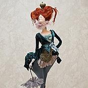 Куклы и игрушки ручной работы. Ярмарка Мастеров - ручная работа дама Пик. Handmade.