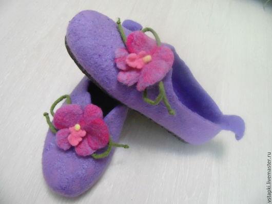 Тапочки Орхидея