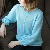 Одежда handmade. Livemaster - original item Sweater mohair APR. Handmade.
