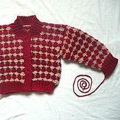 Материалы для творчества handmade. Livemaster - original item Master class, description of a child`s blouse.. Handmade.