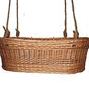 Работы для детей, handmade. Livemaster - original item Crib for baby of wood, willow twigs. Handmade.