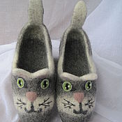Обувь ручной работы handmade. Livemaster - original item Felted Slippers