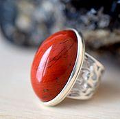 Украшения handmade. Livemaster - original item Ring with Jasper. Custom made. Handmade.