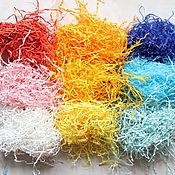 Наполнитель ручной работы. Ярмарка Мастеров - ручная работа Бумажный наполнитель - различные цвета. Handmade.