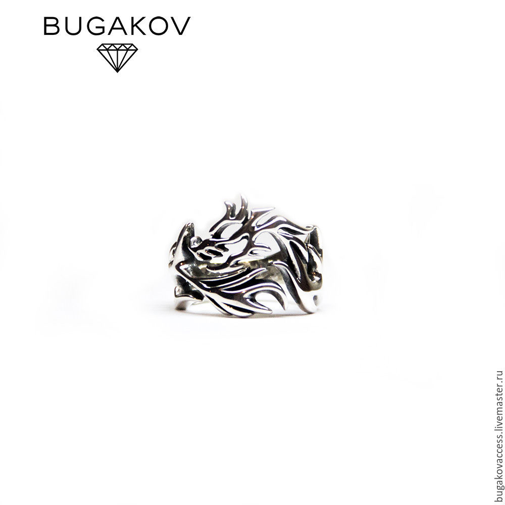 Silver Ring Dragon, Rings, Moscow,  Фото №1