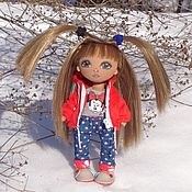 Куклы и игрушки ручной работы. Ярмарка Мастеров - ручная работа Текстильная кукла Каролинка. Handmade.